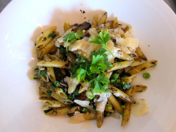 Foody Field Trips_Los Angeles_Food Tour_Fig and Olive_Melrose_Penne Funghi Tartufo