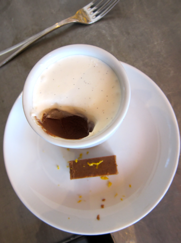 Foody Field Trips_Los Angeles_Food Tours_Fig and Olive_Melrose_Chocolate Pot de Creme
