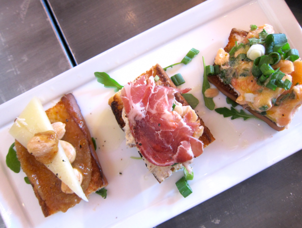Foody Field Trips_Los Angeles_Food Tour_Fig and Olive_Melrose_Crostini Tasting